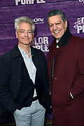 Premiere van The Color Purple in het NDSM theater, Amsterdam<br /> <br /> op de foto:  Frank Sanders