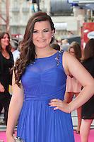 Charlotte Jaconelli, Walking On Sunshine - World Film Premiere, Vue West End Leicester Square, London UK, 11 June 2014, Photo by Richard Goldschmidt