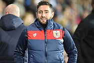 Bristol City manager Lee Johnson during the EFL Sky Bet Championship match between West Bromwich Albion and Bristol City at The Hawthorns, West Bromwich, England on 18 September 2018.