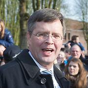 NLD/den Bosch/20160212 - Koning Willem Alexander opent de tentoonstelling Jheronimus Bosch in het in Het Noordbrabants Museum, Jan Peter Balkenende