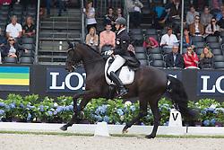Lanterdinger Christian, AUT, Rhea Rubina<br /> World Championship Young Dressage Horses <br /> Ermelo 2016<br /> © Hippo Foto - Leanjo De Koster<br /> 29/07/16