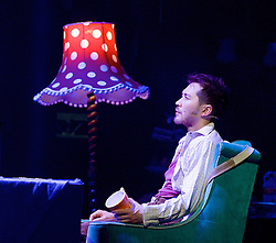 The Mad Hatter's Tea Party <br /> by Zoo Nation<br /> directed by Kate Prince<br /> presented by Zoo Nation, The Roundhouse & The Royal Opera House<br /> at The Roundhouse, London, Great Britain <br /> rehearsal <br /> 29th December 2016 <br /> <br /> Tommy Franzen as Ernest <br /> <br /> <br /> <br /> Photograph by Elliott Franks <br /> Image licensed to Elliott Franks Photography Services