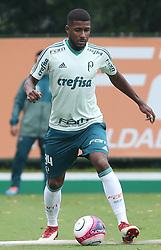 March 19, 2018 - Brazil - SAO PAULO, SP - 19.03.2018: TREINO DO PALMEIRAS - Player Emerson Santos, from SE Palmeiras, during training, at the Football Academy. (Credit Image: © Fotoarena via ZUMA Press)