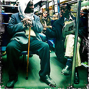 Paris, France. October 17th 2011..In parisian subway
