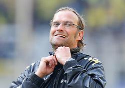 30.04.2011, Signal Iduna Park, Dortmund, GER, 1.FBL,  Borussia Dortmund vs 1. FC Nuernberg, im Bild Dortmunds Trainer Jürgen / Juergen Klopp (GER), nass von der Bierdusche, aber glücklich über die Meisterschaft, EXPA Pictures © 2011, PhotoCredit: EXPA/ nph/  Scholz       ****** out of GER / SWE / CRO  / BEL ******