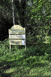 © Licensed to London News Pictures. 31/05/2013.Brown Moss Nature Reserve in Whitchurch, Shropshire, England. Recently Officers from West Mercia Police had  cordoned off a small area of woodland at Brown Moss Nature Reserve in Whitchurch, Shropshire, close to Wellington were ,Miss Georgia Williams, 17, went missing from her home on Sunday evening.She has not been found.<br /> : Rob Leyland/LNP