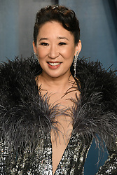 09 February 2020 - Los Angeles, California - Sandra Oh. 2020 Vanity Fair Oscar Party following the 92nd Academy Awards held at the Wallis Annenberg Center for the Performing Arts. (Credit Image: © Birdie Thompson/AdMedia via ZUMA Wire)