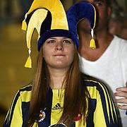 Fenerbahce's supporter during their Turkish superleague soccer match S.B. Elazigspor between Fenerbahce at the Ataturk stadium in izmir Turkey on Saturday 18 August 2012. Photo by TURKPIX