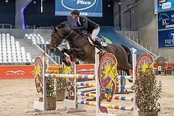 Awouters Yves, BEL, Pegasus v/h Maarlo<br /> Pavo Hengsten competitie - Oudsbergen 2021<br /> © Hippo Foto - Dirk Caremans<br />  22/02/2021