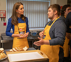 The Duke and Duchess of Cambridge visit Barnsley's local Centrepoint hostel, meet with young people who are supported by the charity, and visit their new Learning Hub, in Barnsley, Yorkshire, UK, on the 14th November 2018. Picture by Charlotte Graham/WPA-Pool. 14 Nov 2018 Pictured: Catherine, Duchess of Cambridge, Kate Middleton. Photo credit: MEGA TheMegaAgency.com +1 888 505 6342