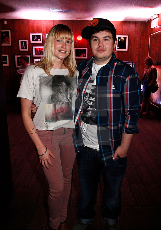 Aoife Kelly and Ronan Nolan, pictured at the launch of Arthur's Day 2011. Pic Andres Poveda CPR