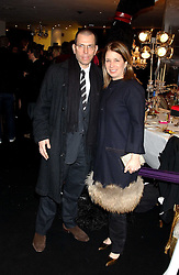 MR & MRS JONATHAN NEWHOUSE at a party to celebrate The World of Alber Elbaz for Lanvin at Harvey Nichols, Knightsbridge, London on 1st February 2006.<br /><br />NON EXCLUSIVE - WORLD RIGHTS
