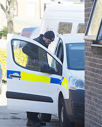 November 2, 2018 - New Ash Green, Kent, UK - New Ash Green, UK. Police are searching the home of missing mum Sarah Wellgreen again after smashing the front door open. Sarah Wellgreen has been missing for over three weeks. (Credit Image: © Grant Falvey/London News Pictures via ZUMA Wire)