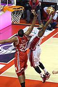 DESCRIZIONE : Campionato 2014/15 Giorgio Tesi Group Pistoia - EA7 Emporio Armani Milano<br /> GIOCATORE : Millbourne Landon<br /> CATEGORIA : Schiacciata<br /> SQUADRA : EA7 Emporio Armani Milano<br /> EVENTO : LegaBasket Serie A Beko 2014/2015<br /> GARA : Giorgio Tesi Group Pistoia - EA7 Emporio Armani Milano<br /> DATA : 12/01/2015<br /> SPORT : Pallacanestro <br /> AUTORE : Agenzia Ciamillo-Castoria / Stefano D'Errico<br /> Galleria : LegaBasket Serie A Beko 2014/2015<br /> Fotonotizia : Campionato 2014/15 Giorgio Tesi Group Pistoia - EA7 Emporio Armani Milano<br /> Predefinita :