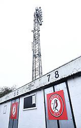 A general view of Twerton Park  prior to kick off  - Mandatory by-line: Ryan Hiscott/JMP - 13/12/2020 - FOOTBALL - Twerton Park - Bath, England - Bristol City Women v West Ham United Women - Barclays FA Women's Super League