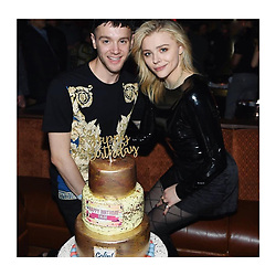 """Chloe Moretz releases a photo on Instagram with the following caption: """"Happy 30th to my beautiful brother :) Aquarius \u2652\ufe0f twins #OTRvegas"""". Photo Credit: Instagram *** No USA Distribution *** For Editorial Use Only *** Not to be Published in Books or Photo Books ***  Please note: Fees charged by the agency are for the agency's services only, and do not, nor are they intended to, convey to the user any ownership of Copyright or License in the material. The agency does not claim any ownership including but not limited to Copyright or License in the attached material. By publishing this material you expressly agree to indemnify and to hold the agency and its directors, shareholders and employees harmless from any loss, claims, damages, demands, expenses (including legal fees), or any causes of action or allegation against the agency arising out of or connected in any way with publication of the material."""