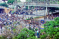 Java, Jakarta. Jakarta 14. November 1998. Large demonstrations.