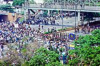 Java, Jakarta. Jakarta 14. November 1998. Large demonstrations.