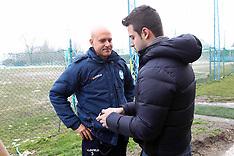 20130223 DAVID SASSARINI ALLENATORE SPAL INTERVISTATO DALLA RAI