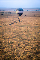 Sunrise Balloon Ride over the Masai Mara, Kenya.