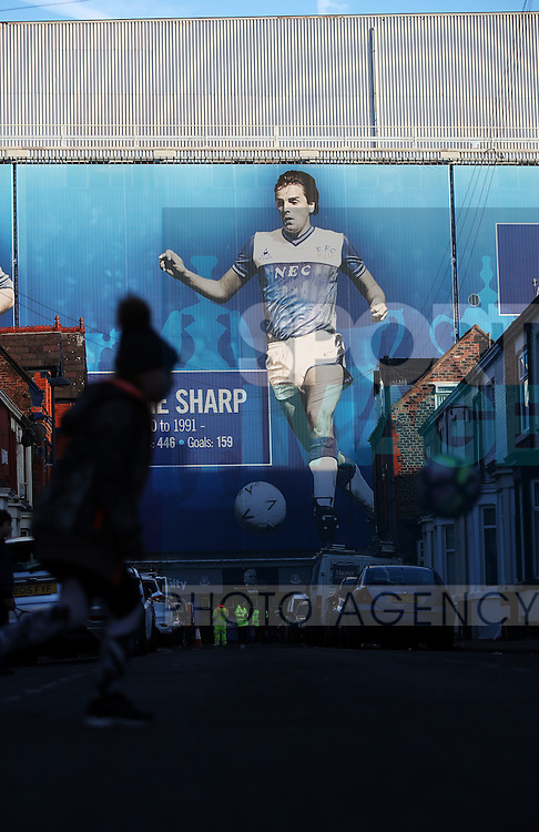 General views before the Premier League match at Goodison Park, Liverpool. Picture date: December 4th, 2016.Photo credit should read: Lynne Cameron/Sportimage