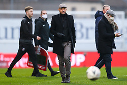 Bristol Rovers manager Paul Tisdale after a 6-0 win - Rogan/JMP - 30/11/2020 - FOOTBALL - Memorial Stadium - Bristol, England - Bristol Rovers v Darlington - FA Cup Second Round Proper.