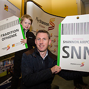 08.12.2016                   <br /> Pictured at the launch of the Shannon Airport Christmas Racing Festival at Hunt Museum were, Shay and Michael Aherne. Picture: Alan Place
