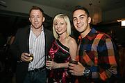 (L to R)  John Tierney, Laura Schmitt and Stephen Dempsey