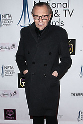 LOS ANGELES, CA, USA - DECEMBER 05: Mark Wright arrives at the 2018 National Film And Television Awards Ceremony held at the Globe Theatre on December 5, 2018 in Los Angeles, California, United States. 05 Dec 2018 Pictured: Larry King. Photo credit: Xavier Collin/Image Press Agency/MEGA TheMegaAgency.com +1 888 505 6342