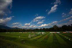 during media day and practice session of Slovenian national football team in national football center in Brdo, 2nd of September, 2019, NNC Brdo. Photo by Grega Valancic / Sportida