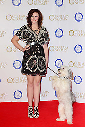 Ashleigh Butler and Pudsey during the Collars & Coats Gala Ball, London, United Kingdom. Thursday, 7th November 2013. Picture by Nils Jorgensen / i-Images