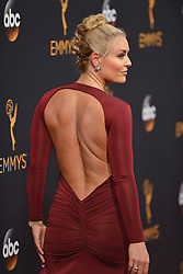 Lindsey Vonn attends the 68th Annual Primetime Emmy Awards at Microsoft Theater on September 18, 2016 in Los Angeles, California. Photo by Lionel Hahn/ABACAPRESS.COM