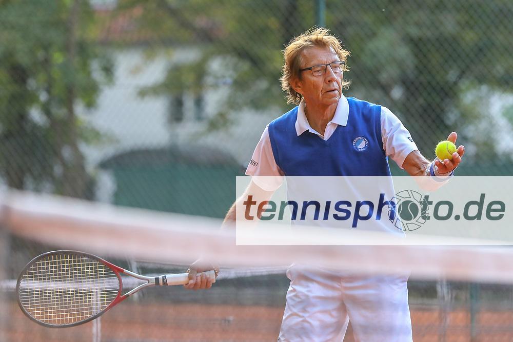 Jörgen Jacobs (TC 1899 Blau-Weiss Berlin), Grunewald Open 2018 - Senioren, Finals, Berlin, 16.09.2018, Foto: Claudio Gärtner