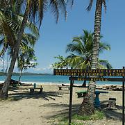 Central America, Centro America, Latin America, Latin, tropical, Costa Rica, Puerto Viejo, Caribbean, Manzanillo Wildlife Refuge, Manzanillo, Inviting beach in Manzaniollo Wildlife Refuge, Costa Rica.