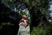 Milano, Limbiate,.Raffaello Mosca, 75 anni, ex dipendente Philips. Accompagna le scolaresche.nei trekking (ma anche gli adulti in giro per l?Europa). .Milano, Limbiate,. Milan, Raffaello Mosca, 75 years old, ex Philips employ, now tour guide for trekking in the mountains, especially for schools .