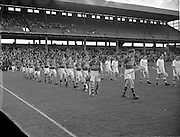 09/10/1955<br /> 10/09/1955<br /> 9 October 1955<br /> St. Brendan Cup Final: Tipperary v New York at Croke Park, Dublin.