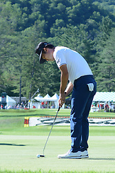 July 8, 2018 - White Sulphur Springs, WV, U.S. - WHITE SULPHUR SPRINGS, WV - JULY 08: Kevin Na taps in to win the Military Tribute at the Greenbrier in White Sulphur Springs, Wv on July 8th 2018.(Photo by Brian Bishop/Icon Sportswire) (Credit Image: © Brian Bishop/Icon SMI via ZUMA Press)