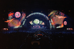 """The Grateful Dead Live at Giants Stadium 03 August 1994. Photograph taken during the song """"Corrina"""""""