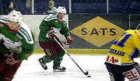 Ishockey<br /> GET-Ligaen<br /> 08.01.08<br /> Askerhallen<br /> Frisk Asker - Storhamar<br /> Cameron Abbott<br /> Foto - Kasper Wikestad