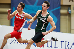 Don Kirby Invitational Indoor Track & Field<br /> Albuquerque, NM, Feb 14, 2020<br /> mens 400m, New Mexico, Colorado State