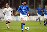 Fotball<br /> Treningskamp<br /> Italia v Spania<br /> 28. april 2004<br /> Foto: Digitalsport<br /> NORWAY ONLY<br /> <br /> STEFANO FIORE (ITA)