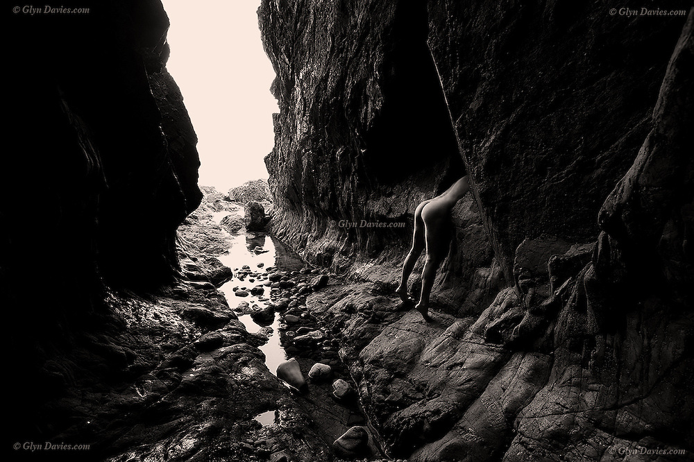In this ancient Welsh cave, eroded by eons of nature's attack, it feels hard, solid and eternal nevertheless. The headless organic figure shows our irrelevance to the bigger world. This microscopic virus will do what it will do, it will kill and decimate communities in the same way as so many viruses before. Whether it's the climate, forces of nature, bacteria or viruses, our place on this earth is fragile and finite - we are never really in control of our future. <br /> <br /> We can be so beautiful, wonderful, creative and innovative, but without love, human touch, close relationships and socialising, human life seems little more than billions of organisms struggling to survive. Our whole life is over in a fraction of a microsecond in geological time, so I hope for all of us, that we find a vaccine soon so that we can once again become the full human beings that we all need to be.
