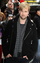 KIAN EGAN attends the 2014 TRIC Awards at The Grosvenor House Hotel, London, United Kingdom. Tuesday, 11th March 2014. Picture by i-Images