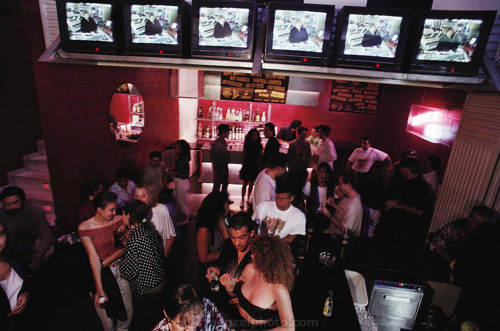 Barraca Bar night club, Valencia, Spain.
