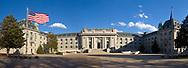 Maryland, Annapolis, U.S. Naval Academy, Bancroft Hall, panorama
