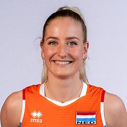 Marrit Jasper of Netherlands, Photoshoot selection of Orange women's volleybal team season 2021on may 12, 2021 in Arnhem, Netherlands (Photo by RHF Agency/Ronald Hoogendoorn)