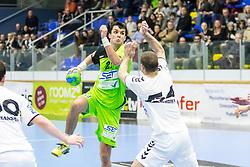 03.02.2017, BSFZ Suedstadt, Maria Enzersdorf, AUT, HLA, SG INSIGNIS Handball WESTWIEN vs HC FIVERS WAT Margareten, HLA Oberes Playoff, 1. Runde, im Bild Gabor Hajdu (SG INSIGNIS Handball WESTWIEN) // during Handball League Austria, upper play off, 1 st round match between SG INSIGNIS Handball WESTWIEN and HC FIVERS WAT Margareten at the BSFZ Suedstadt, Maria Enzersdorf, Austria on 2017/02/03, EXPA Pictures © 2017, PhotoCredit: EXPA/ Sebastian Pucher