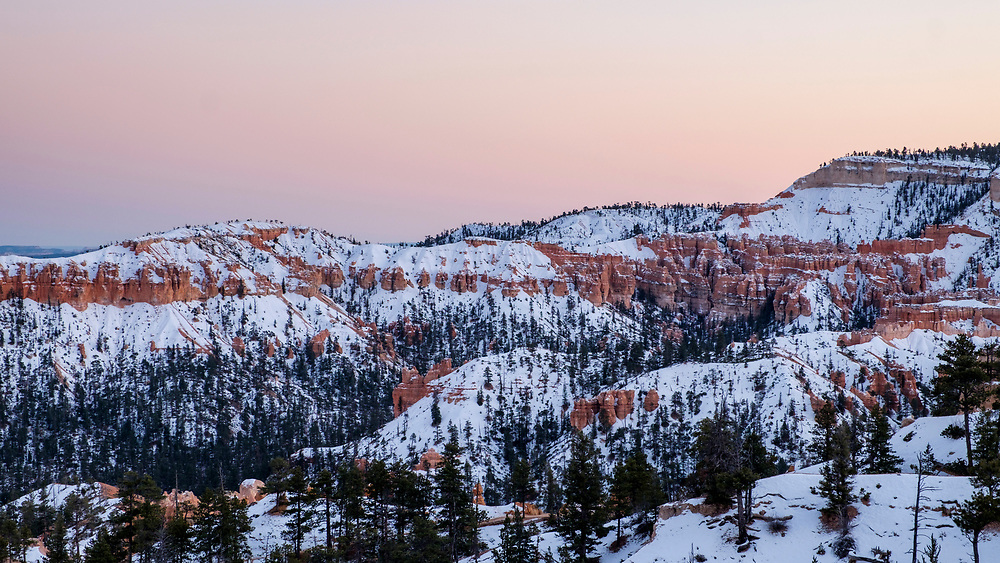 Sunrise is a great time to be at the canyon.