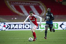 Monaco vs Nancy - Demie Finale Coupe de la Ligue - Monaco - 25/01/2017