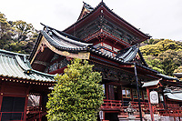 Shizuoka Sengen Shrine is a collective of three shinto shrines combined into one large shrine compound in Shizuoka City.  The original smaller shrines were once Kambe Jinja, Sengen Jinja, and Ohtoshimioya Jinja.  The primary god of Kambe is the Ohnamuchi-no-mikoto which is the the founding diety of Suruga province, the former name of Shizuoka. The principle diety of Sengen Jinja is Kanahanasakuray-hime the god of Mt Fuji and the kami god of Ohtoshimioya Shrine is Ohtoshimioya-no-Mikoto the kami protecting commerce.